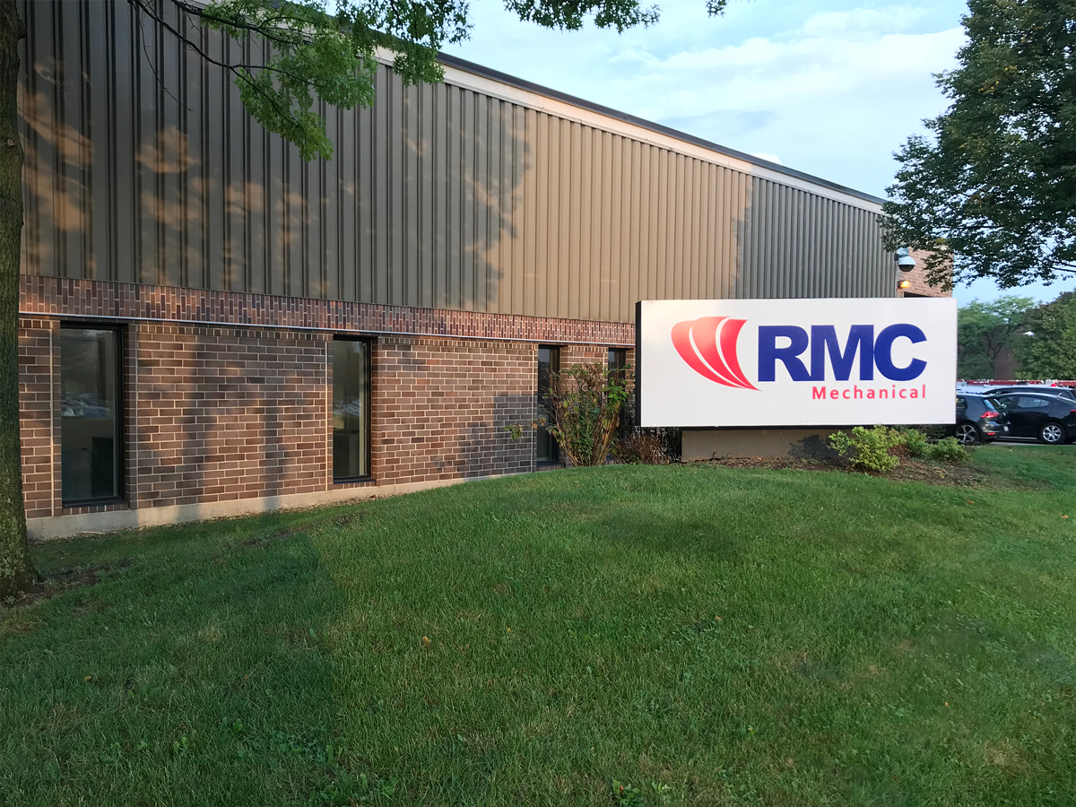 Exterior RMC Mechanical Building Wood Dale, IL