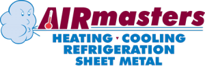 AIRmasters Heating Cooling Refrigeration Sheet Metal Springfield IL logo